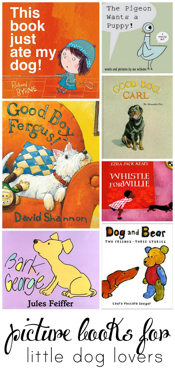 Great picture books for your tiny canine lover! (Plus how to get a free book)