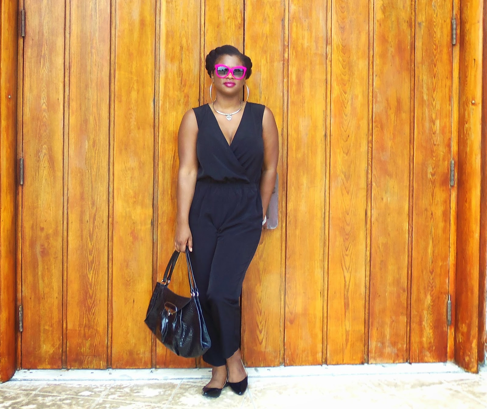 how to wear a jumpsuit www.simplysassysstyle.com