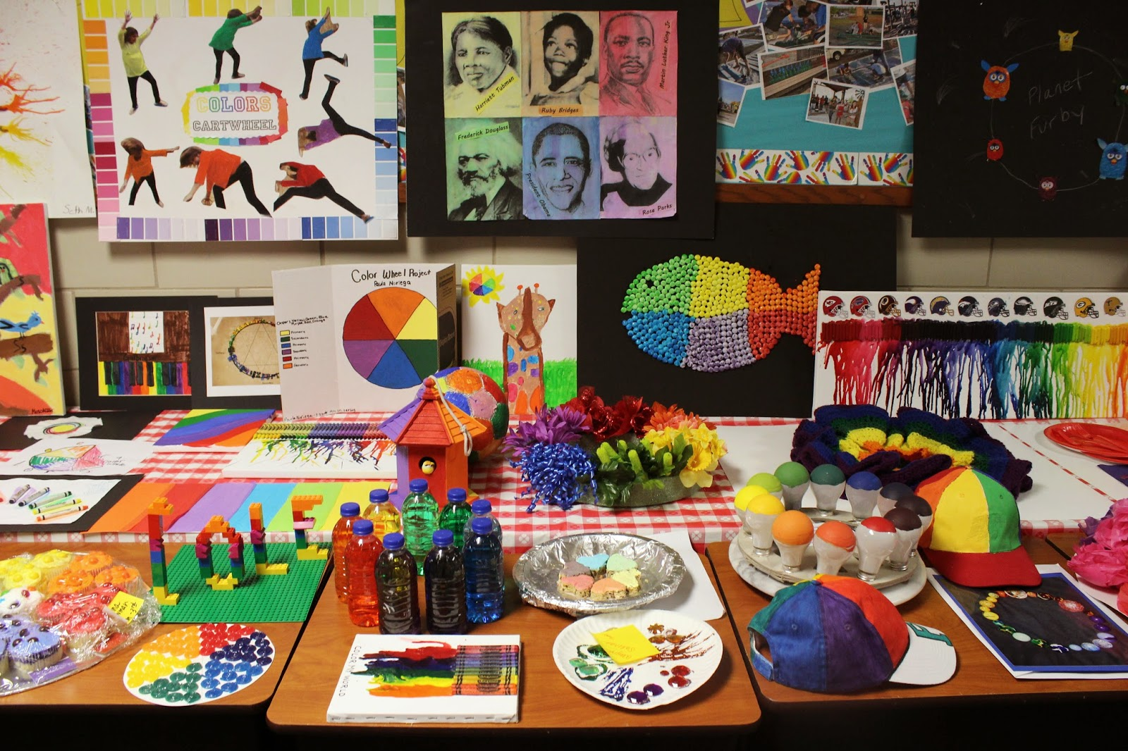 Folk Art Creative Color Wheel Project Www Topsimages Com