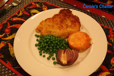 Deconstructed pork chops on Carole's Chatter
