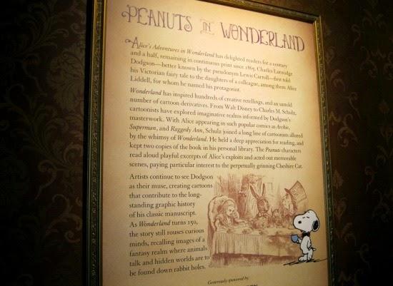 Schulz Museum Peanuts in Wonderland