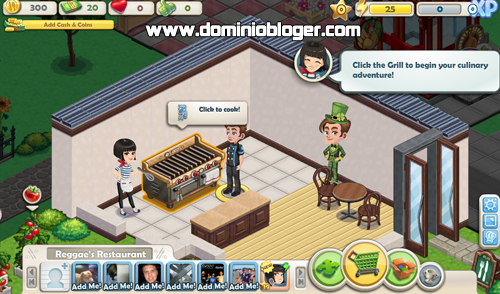 Juega Chefville con tus amigos en Facebook - www.dominioblogger.com