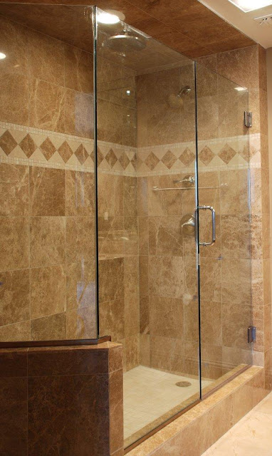 Classic Elegant Shower Wall
