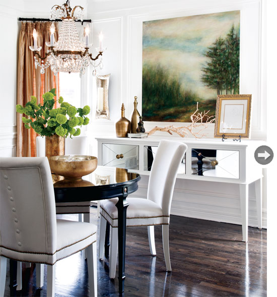 Mix and chic home tour a classic contemporary home in for Classic contemporary interior design definition
