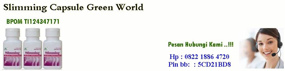 Obat Pelangsing Slimming Capsule Green World