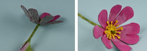 Manualidades Flores Recicladas Mimundomanual