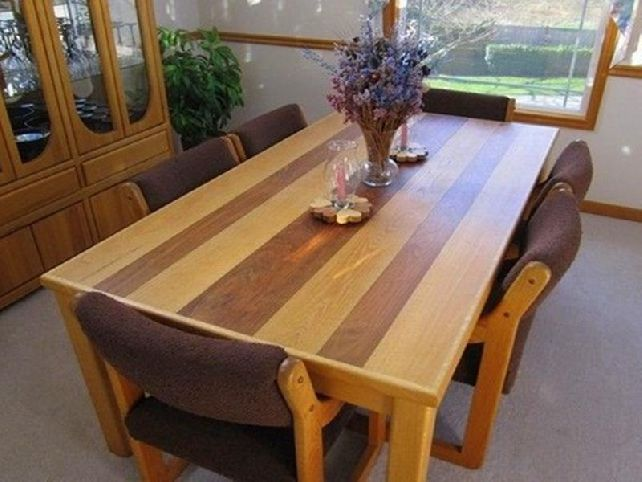 Joe the carpenter best dining room table plans choice for Breakfast table plans