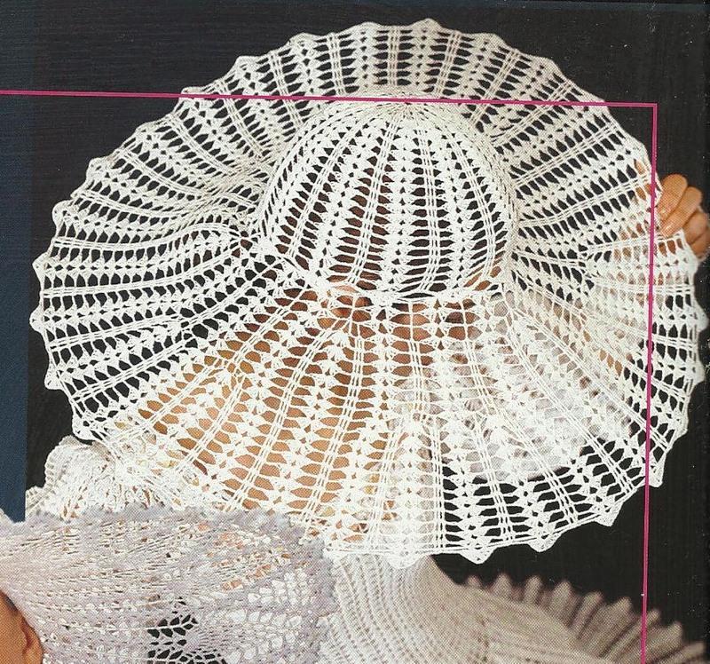 TRICO y CROCHET-madona-mía: Sombreros a Crochet con esquema