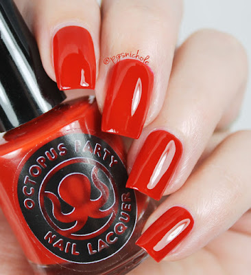 Octopus Party Nail Lacquer Universal Loner