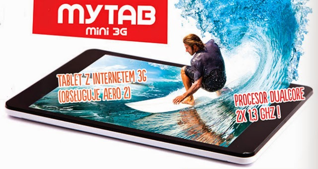 Tablet myTab Mini 3G z Biedronki
