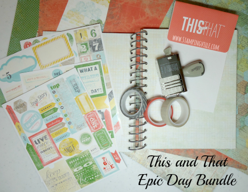 Stampin' Up! This and That Epic Day Product Line
