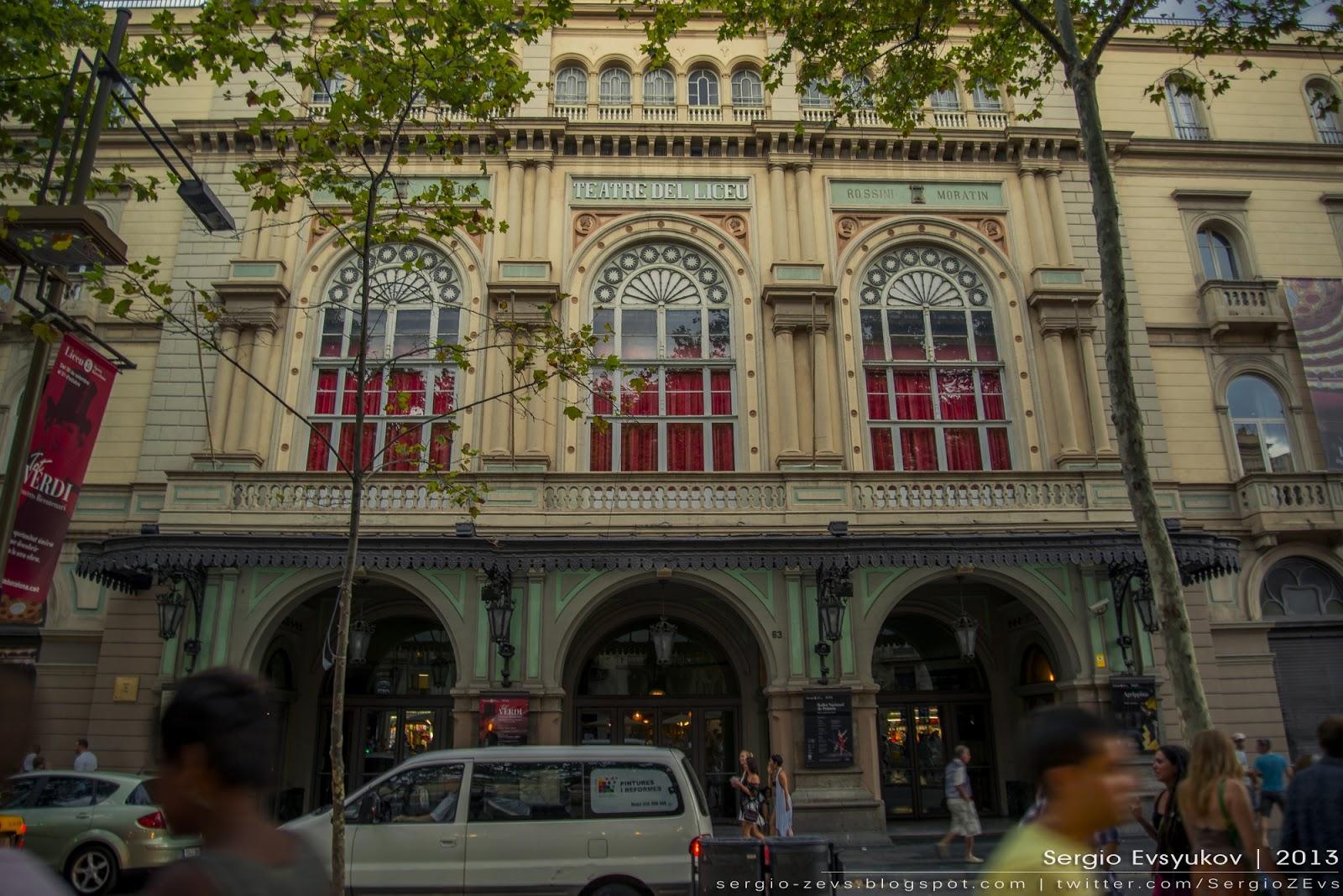 Liceu Theatre Las Ramblas