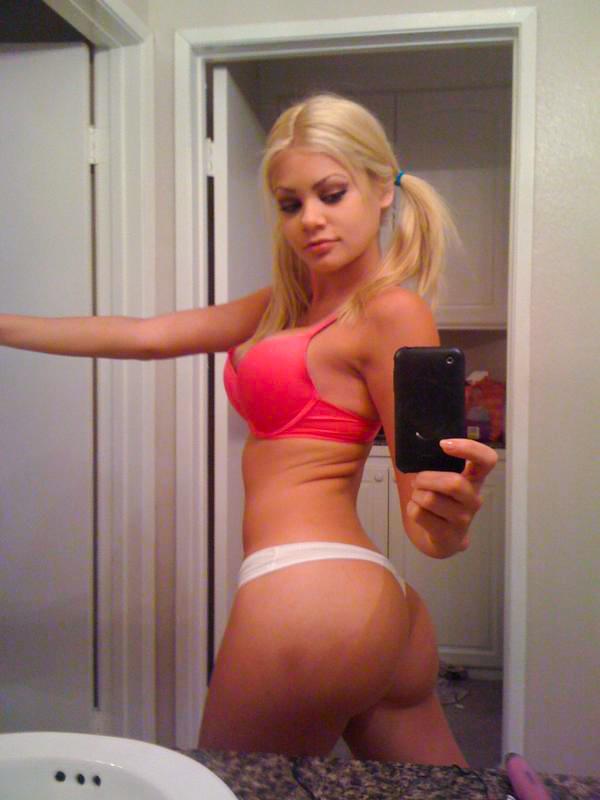 Nude Skinny Girl Bubble Butt