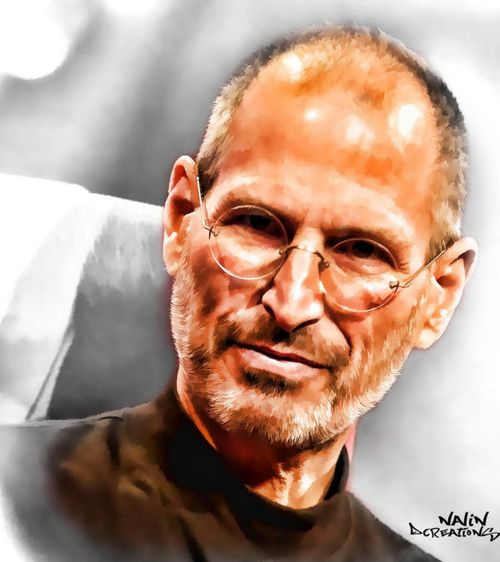 40 Lukisan Steve Jobs yang Mengagumkan: Thank You Steve