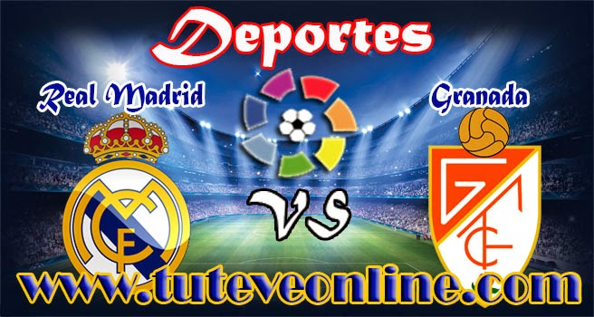 Ver Real Madrid vs Granada en vivo | Domingo 5 de Abril de 2015 | La Liga Española 2014-15 Online