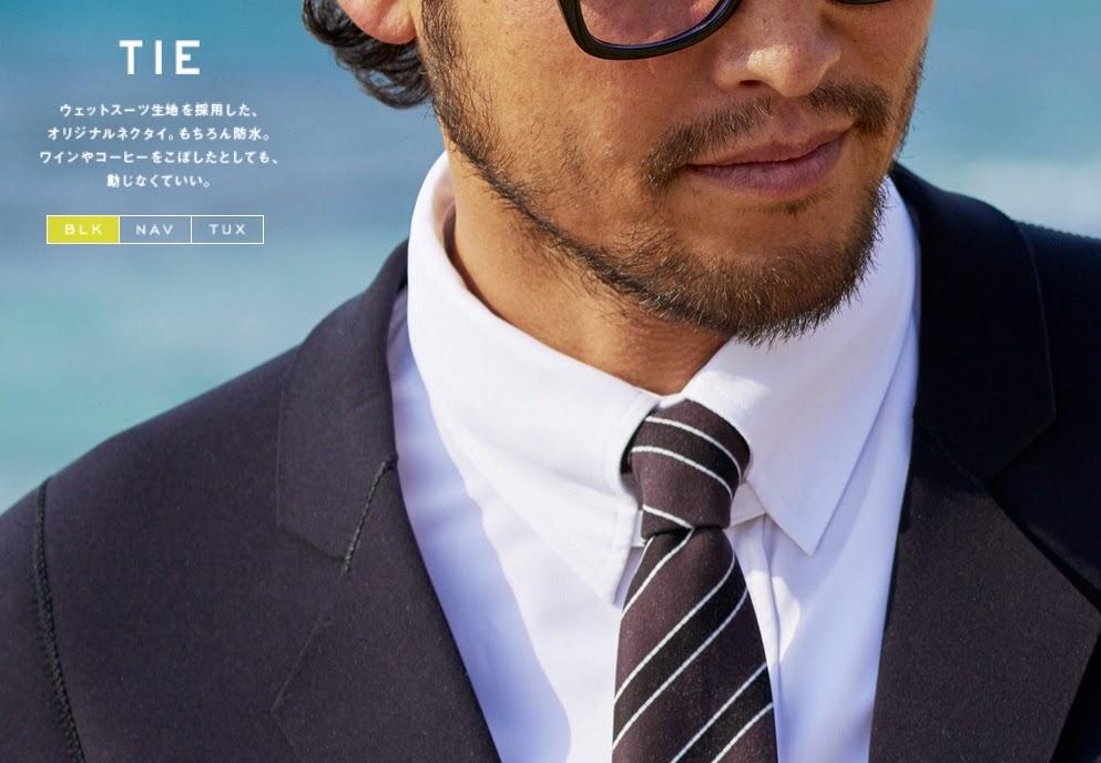 Tendencia y Moda.QuickSilver crea un traje de baño con aspecto de traje de negocios