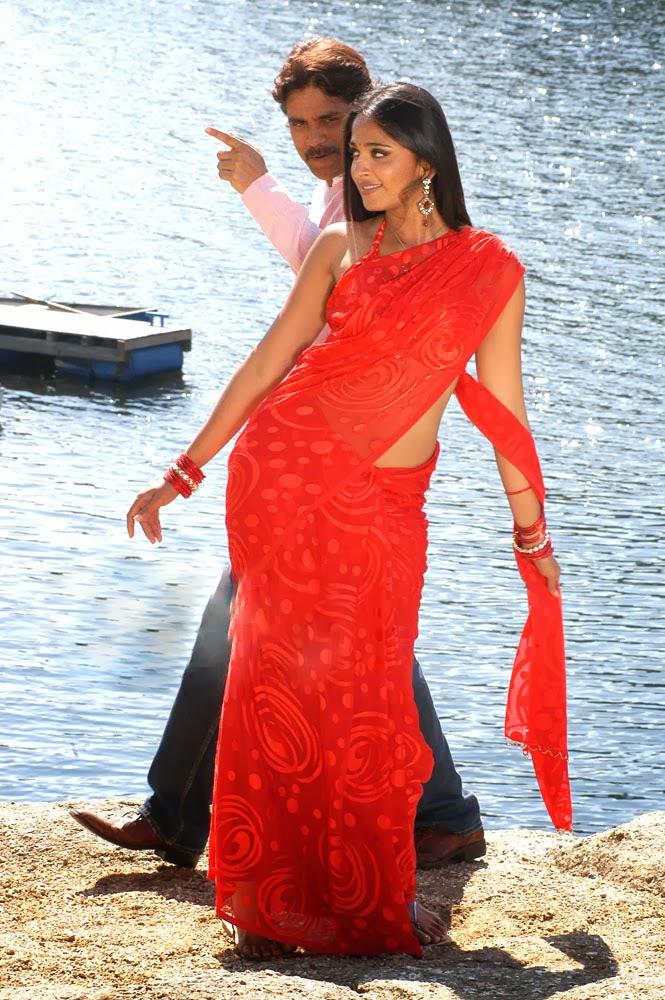 Anushka shetty hot with nagarjuna in don
