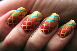 Rainbow Checkerboard Gradient