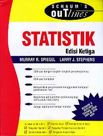 toko buku rahma: buku STATISTIK EDISI KETIGA, pengarang murray r. spiegal, penerbit erlangga
