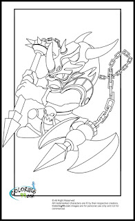 skylanders magic voodood coloring pages