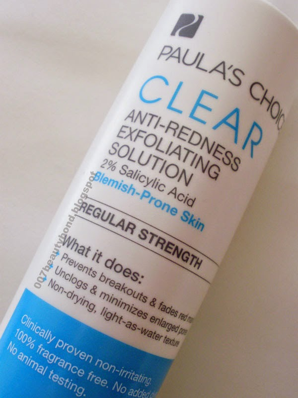 bha Paula's Choice Clear Exfoliating Solution review