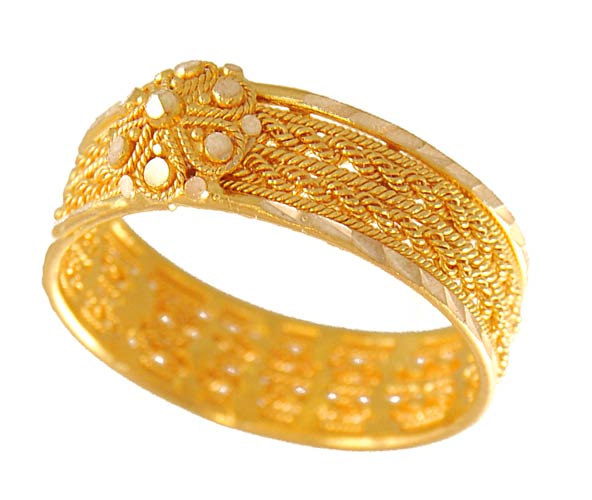 Gold Wedding Rings India Gold Rings For Women