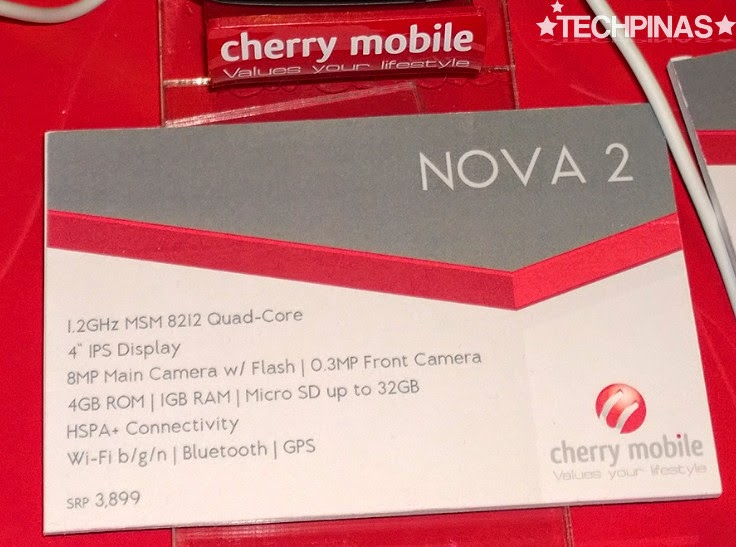 Cherry Mobile Nova 2, Cherry Mobile, Cherry Mobile Quad Core Android Smartphone