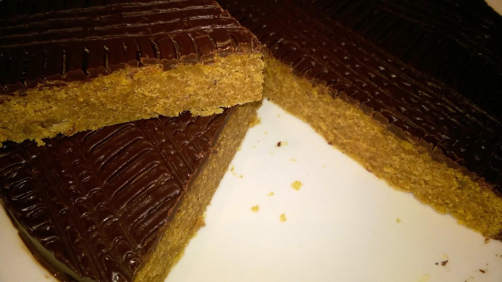 Gateau aux noix et chocolat de julie andrieu