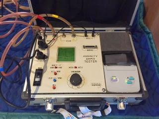 気密測定の機械2