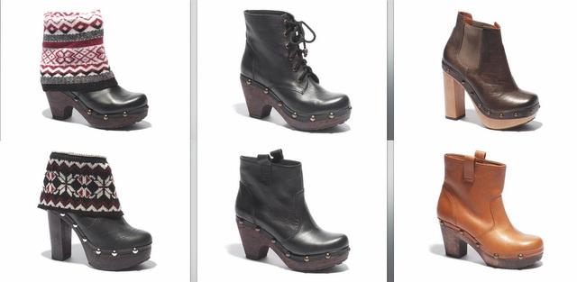 maderas botas en línea
