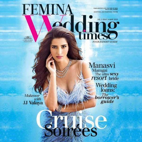 Manasvi Mamgai On Femina Wedding Times Magazine March 2015