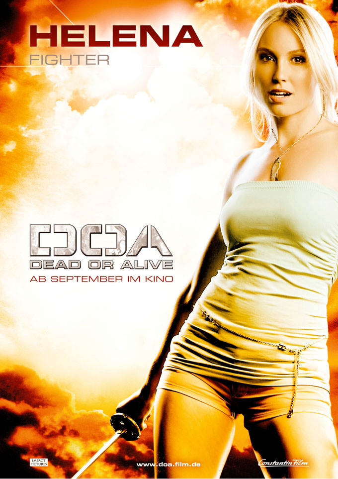 DOA Dead or Alive (2006). Director: Corey Yuen