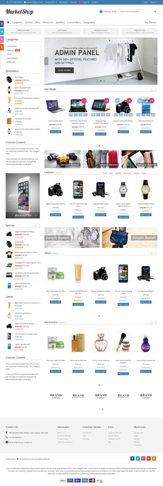Best Multi-Purpose Responsive Magento Theme