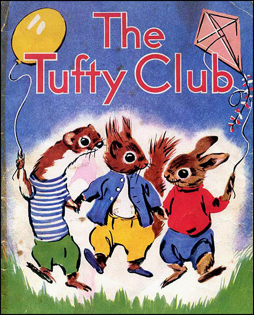 Were you a member of the Tufty Club?