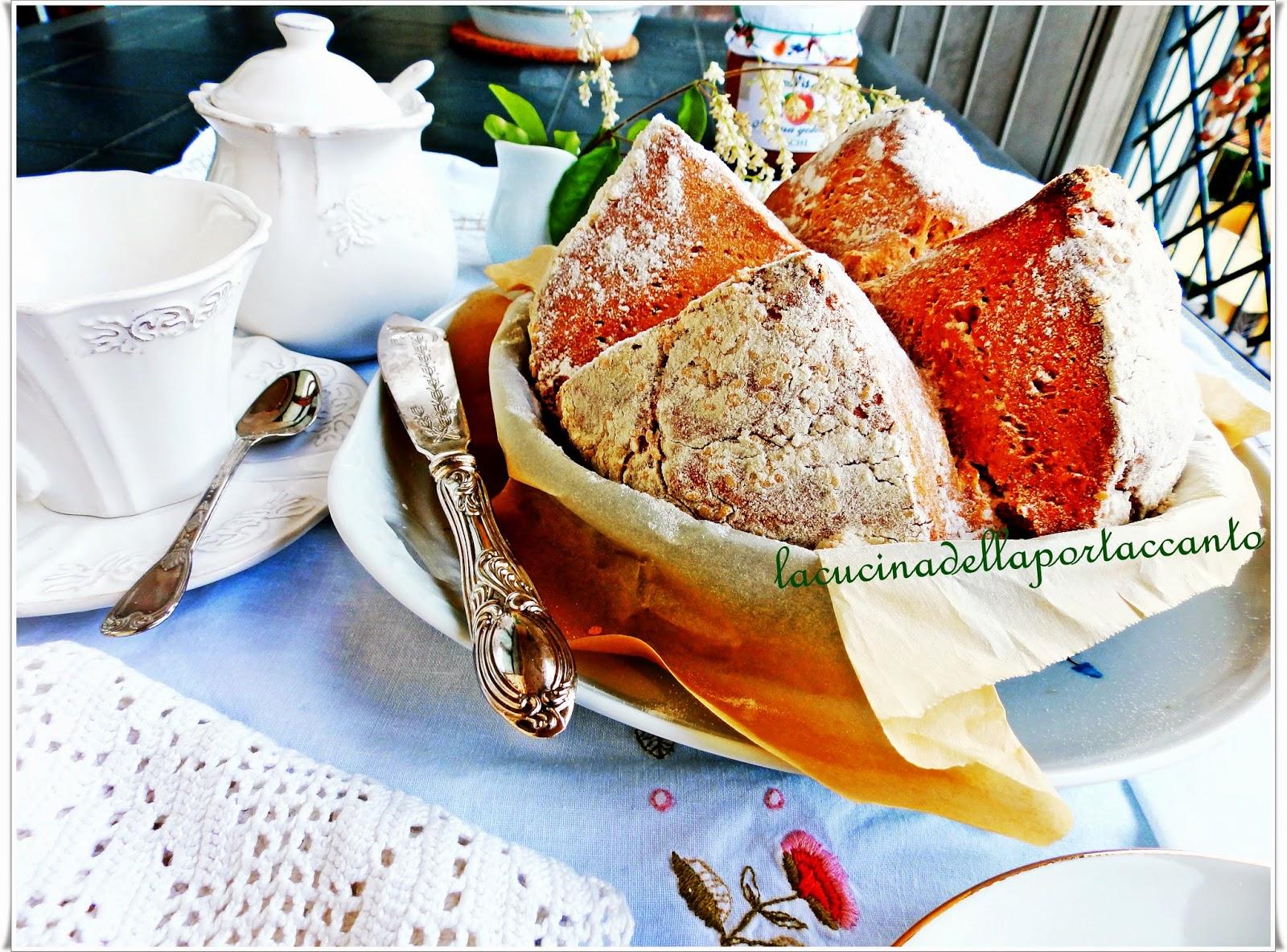 soda bread, il pane senza lievito  ed ora anche senza latticello!