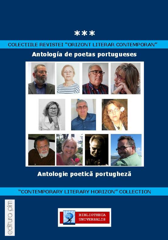 Coordenação da I Antologia de Poetas Portugueses, na Roménia (bilingue), Janeiro de 2017