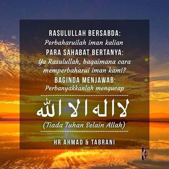 Cara Perbaharui Iman!