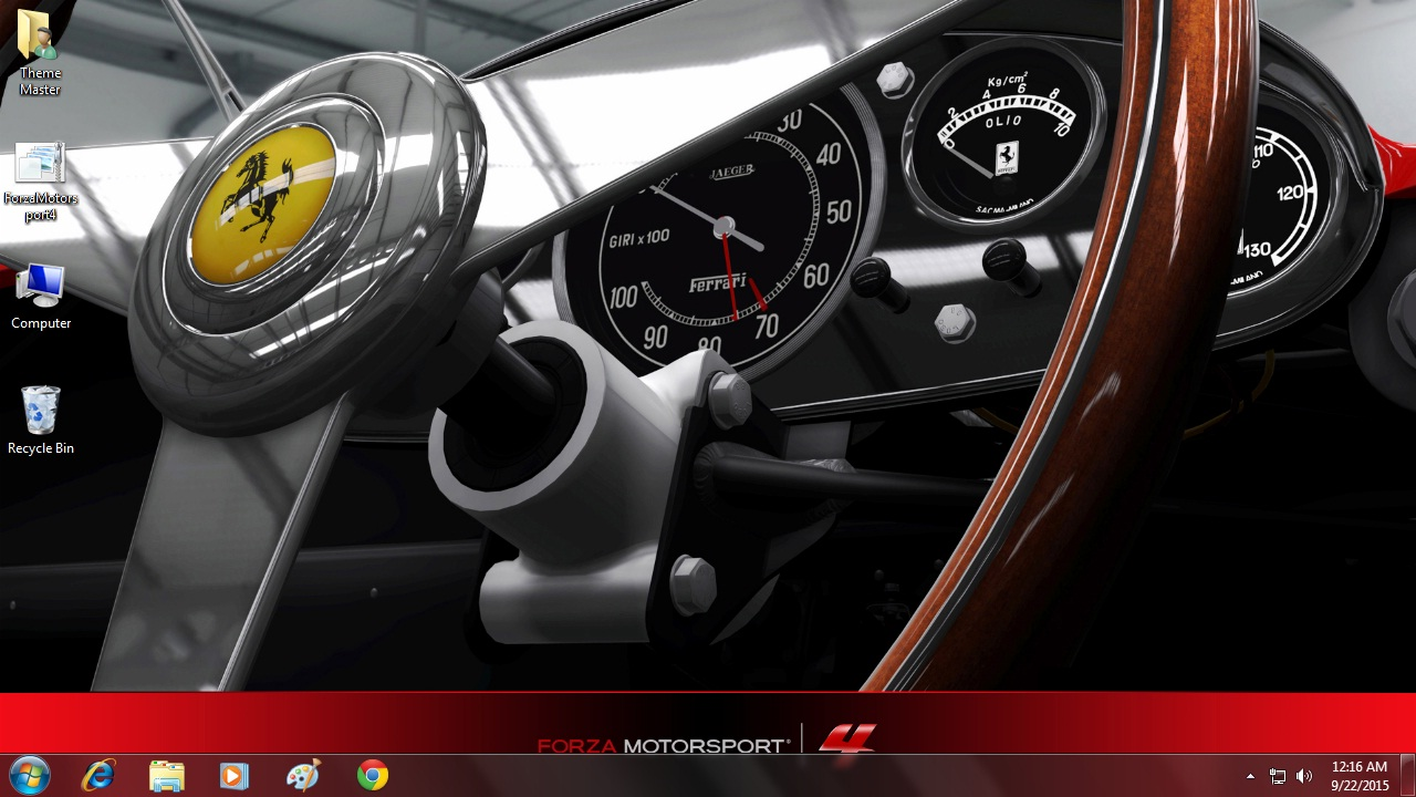 Download Forza Motorsport 4 theme free