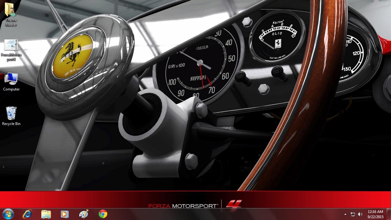 Download Forza Motorsport 4 theme free