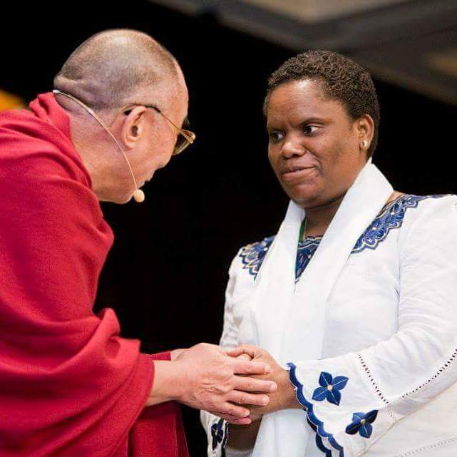Honoured by Dalai Lama as Unsung Hero of Compassion