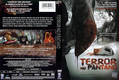 Filme Terror No Pântano DVD Capa