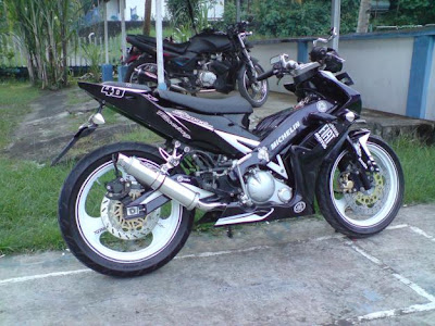 Modif Jupiter mx tauring modifikasi motor jupiter mx