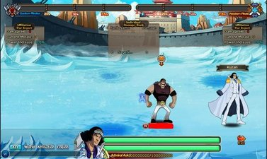 Pockie Pirates Battle of MarineFord