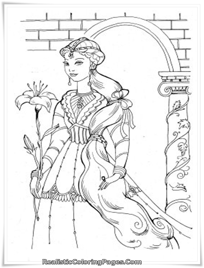 Alexa Coloring Pages Bliss Coloring
