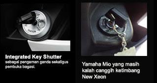 Key Shutter switch new Xeon RC vs Mio Sporty