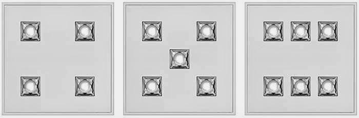 luminarias para iluminación de oficinas con tecnología EQ Modular System