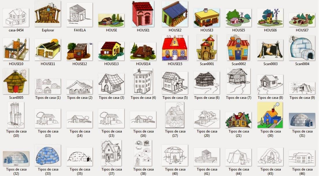 La alegr a de ense ar 57 im genes a todo color de tipos - Tipos de tejados para casas ...