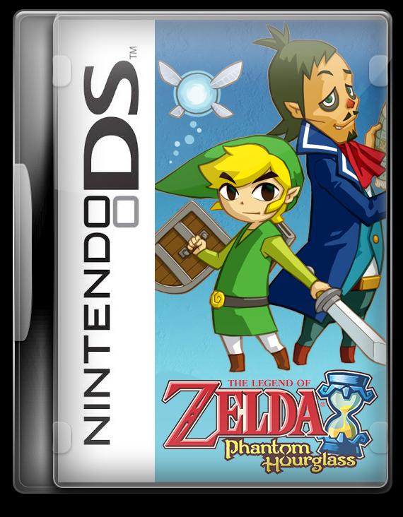 The Legend Of Zelda Phantom Hourglass NDS