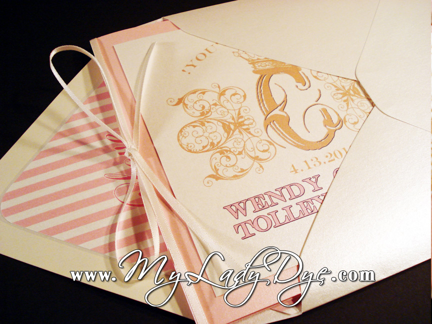 This new revamped invitation set is truly one to make your guests say Wow