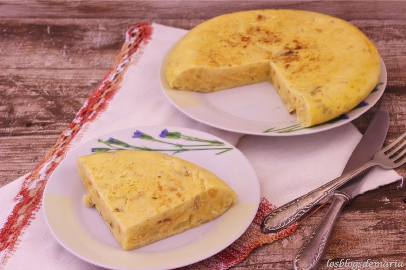 Las recetas que adelgazan de Marta Aranzadi y su tortilla